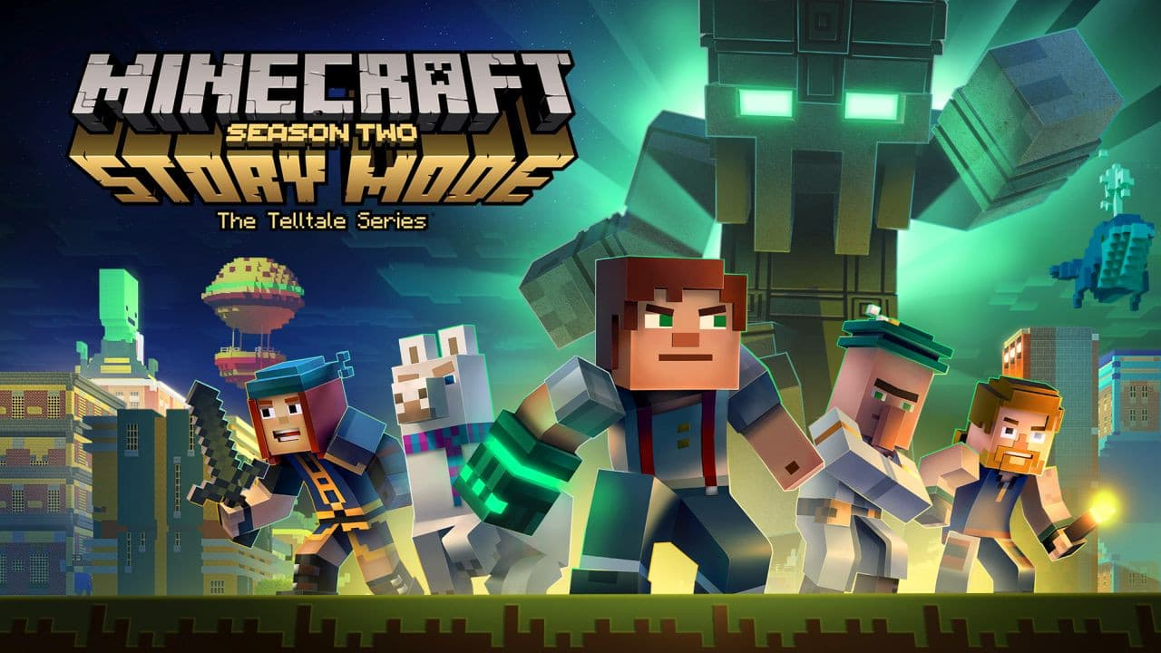 Jaquette Minecraft : Story Mode - Saison 2 : Episode 1 - Hero in Residence