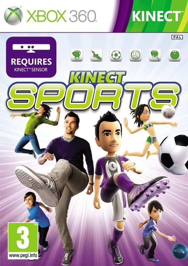 Jaquette Kinect Sports