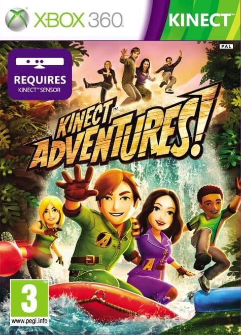 Jaquette Kinect Adventures