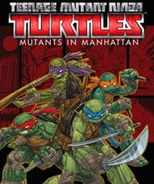 Jaquette Teenage Mutant Ninja Turtles : Des Mutants à Manhattan