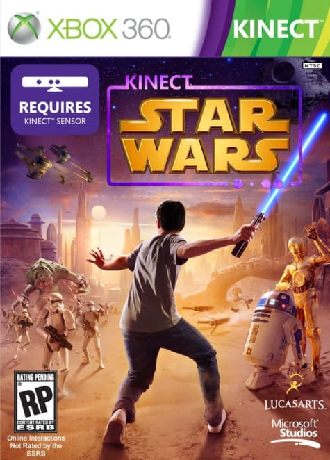 Jaquette Star Wars Kinect