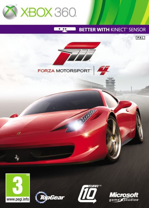 Jaquette Kinect Forza Motorsport