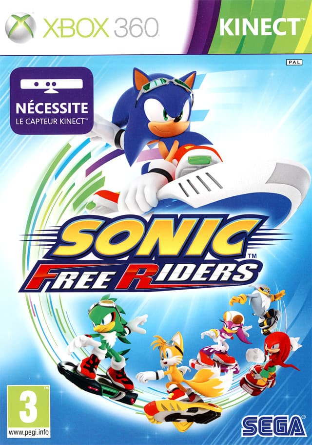 Jaquette Sonic Free Riders