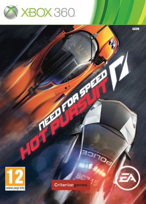 Jaquette Need for Speed Hot Pursuit