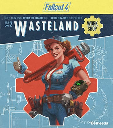 Jaquette Fallout 4 : Wasteland Workshop