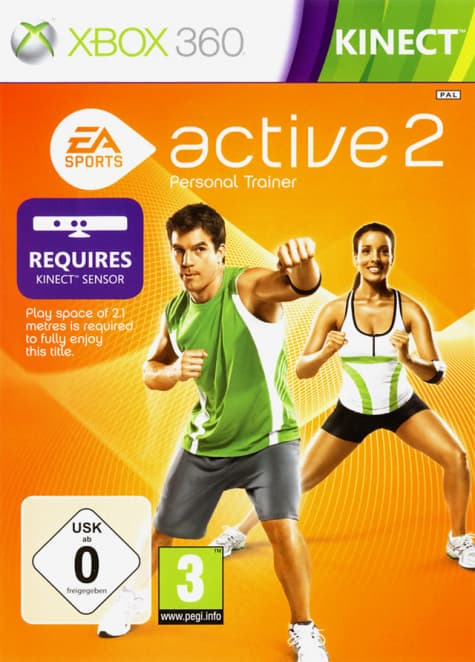 Jaquette EA Sports Active 2.0