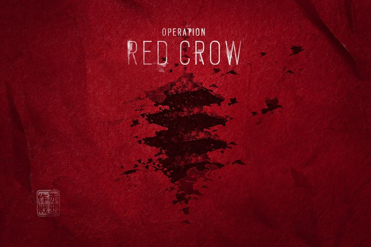 Jaquette Tom Clancy's Rainbow Six Siege : Opération Red Crow