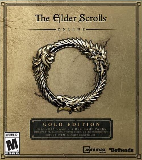 Jaquette The Elder Scrolls Online : Gold Edition