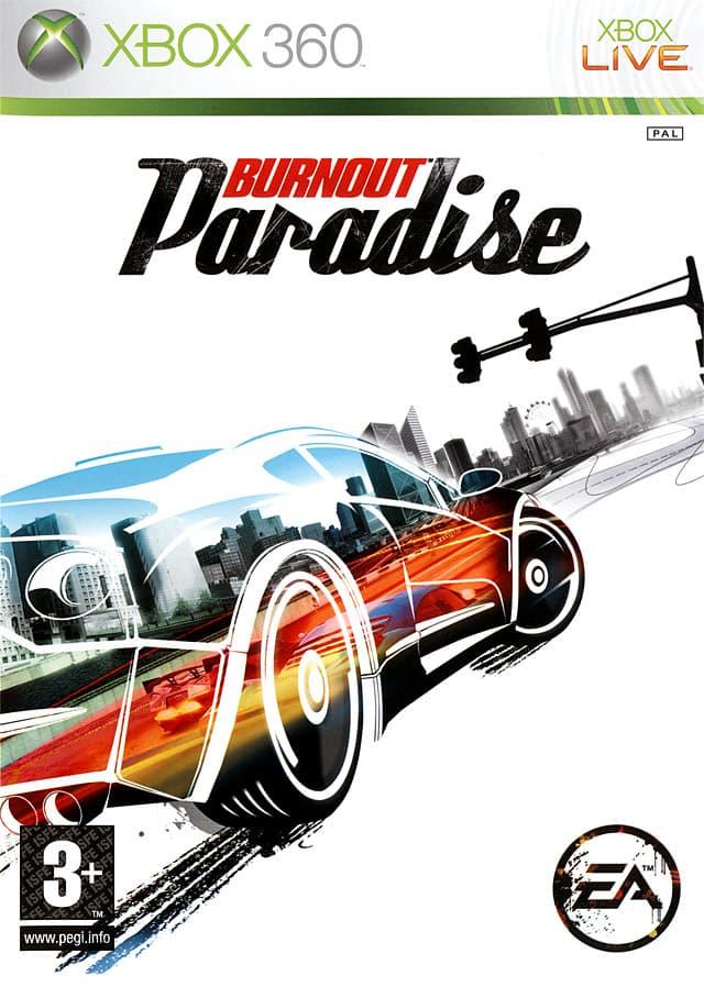 Jaquette Burnout Paradise
