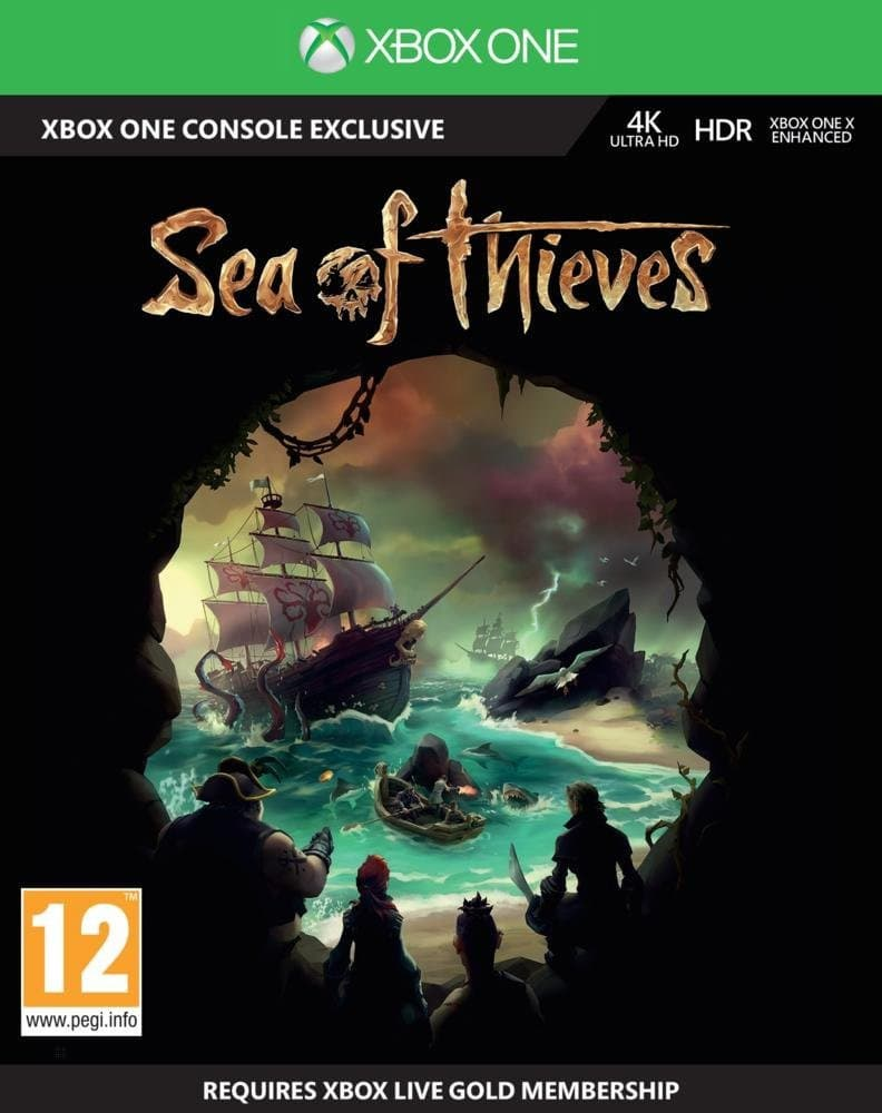 Jaquette Sea of Thieves