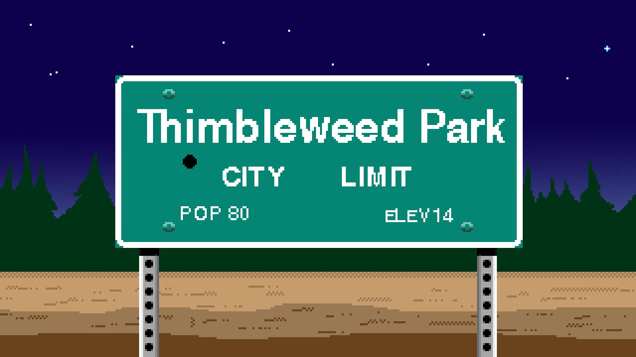 Jaquette Thimbleweed Park