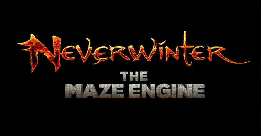Jaquette Neverwinter : The Maze Engine