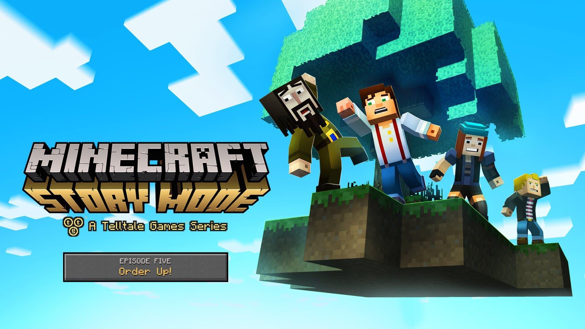 Jaquette Minecraft : Story Mode - Episode 5 : A nous l'ordre !