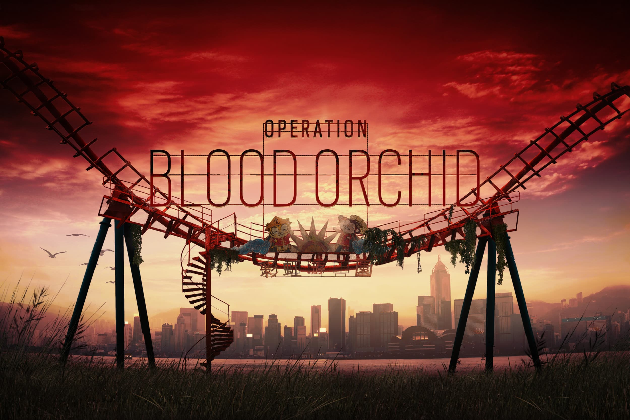 Jaquette Tom Clancy's Rainbow Six Siege : Opération Blood Orchid