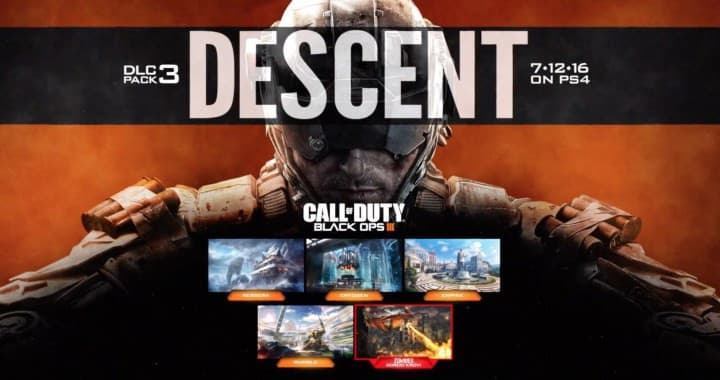 Jaquette Call of Duty : Black Ops III - Descent