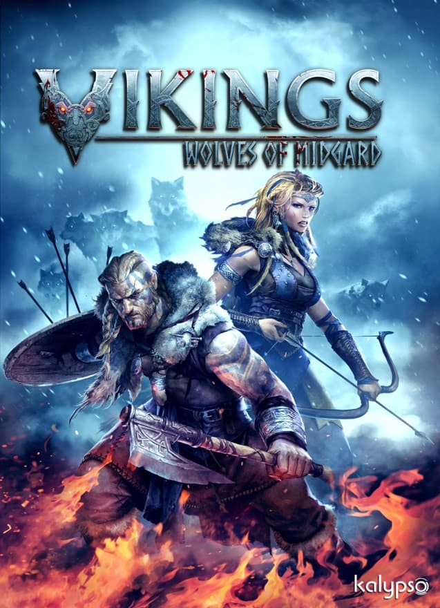 Jaquette Vikings : Wolves of Midgard