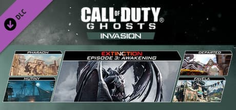 Jaquette Call of Duty : Ghosts : Invasion