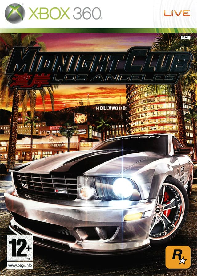 Jaquette Midnight Club : Los Angeles
