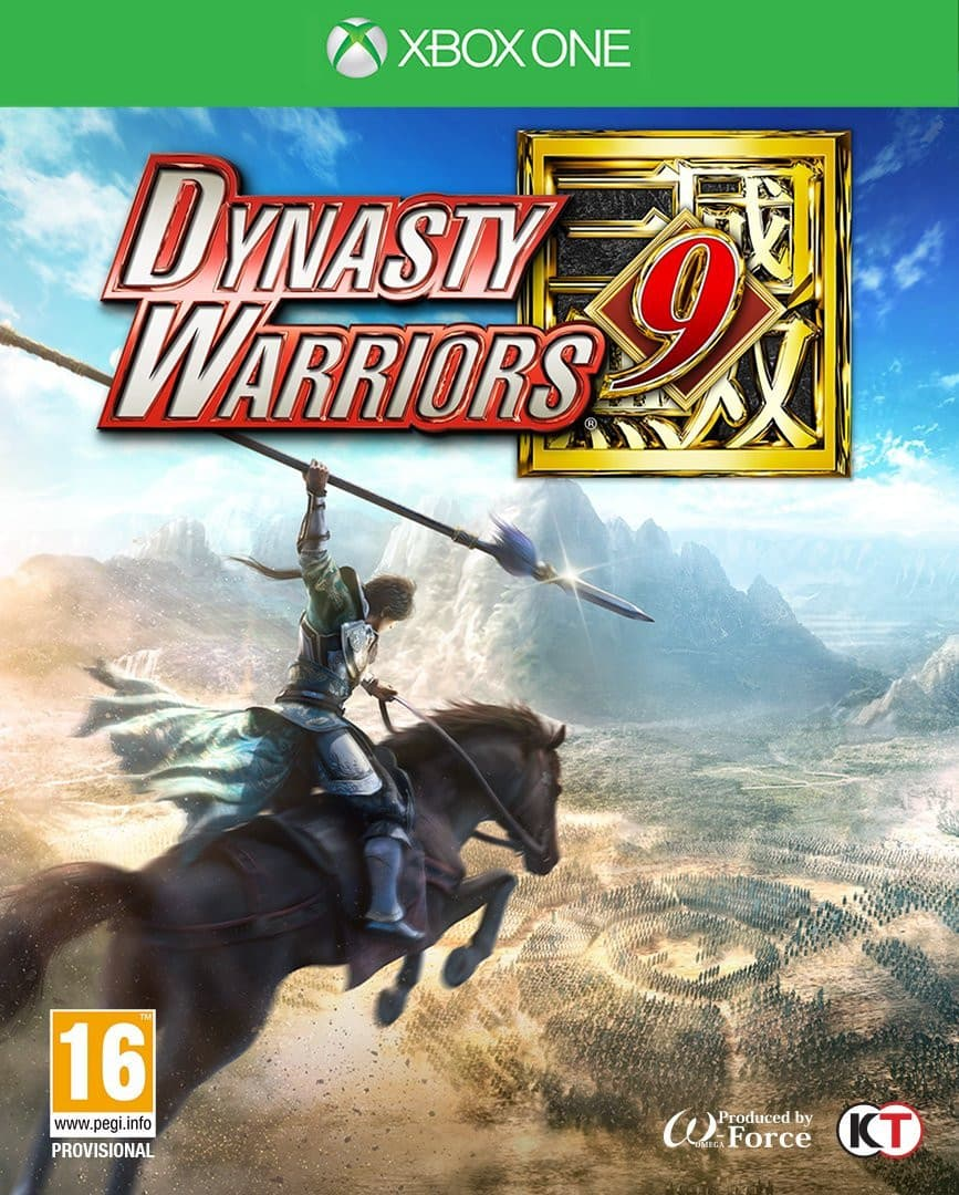 Jaquette Dynasty Warriors 9