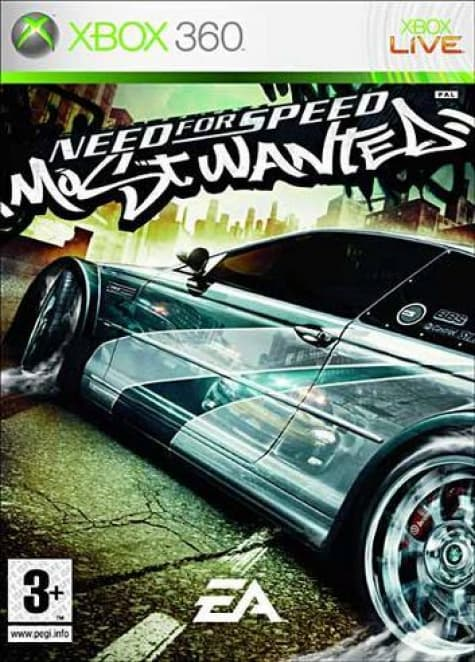 Jaquette Need for Speed Most Wanted