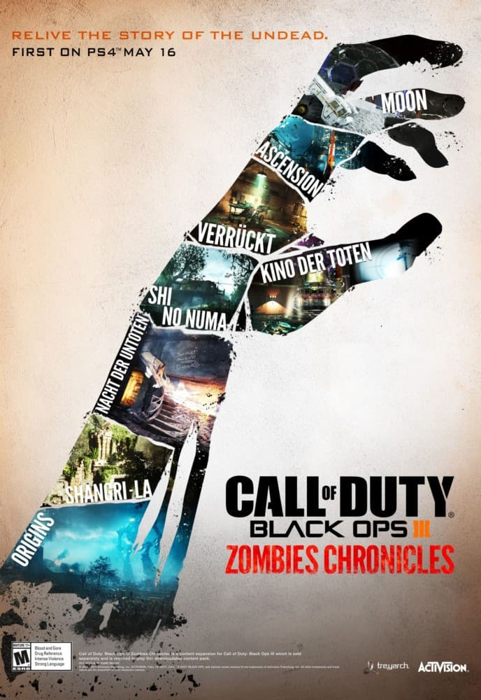 Jaquette Call of Duty : Black Ops III Zombies Chronicles