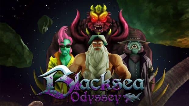 Jaquette Blacksea Odyssey