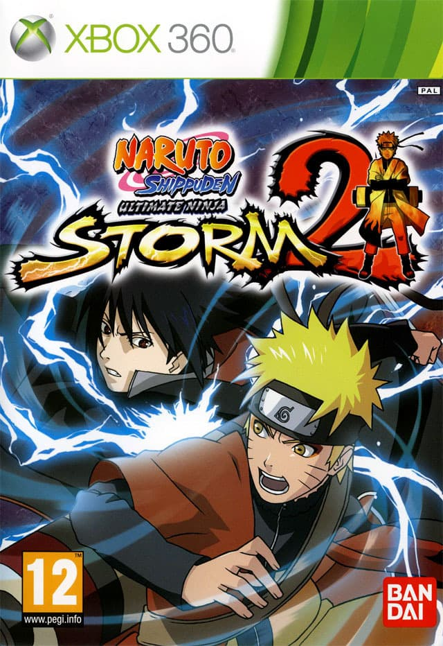 Jaquette Naruto Shippuden : Ultimate Ninja Storm 2