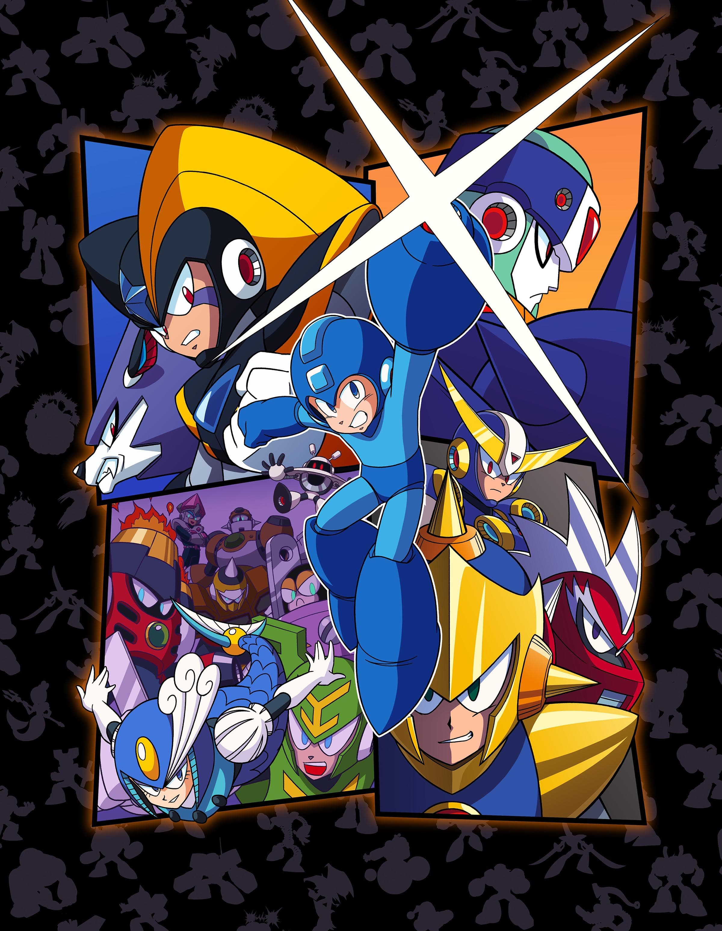 Jaquette Mega Man Legacy Collection 2