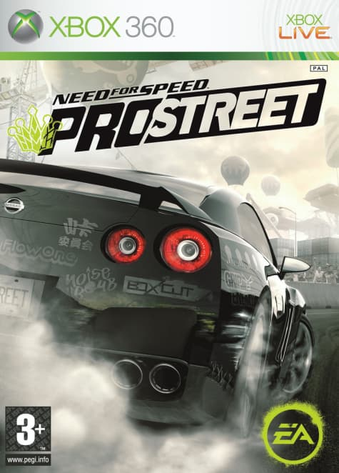 Jaquette Need for Speed Pro Street