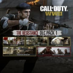 Jaquette Call of Duty : WWII - The Resistance