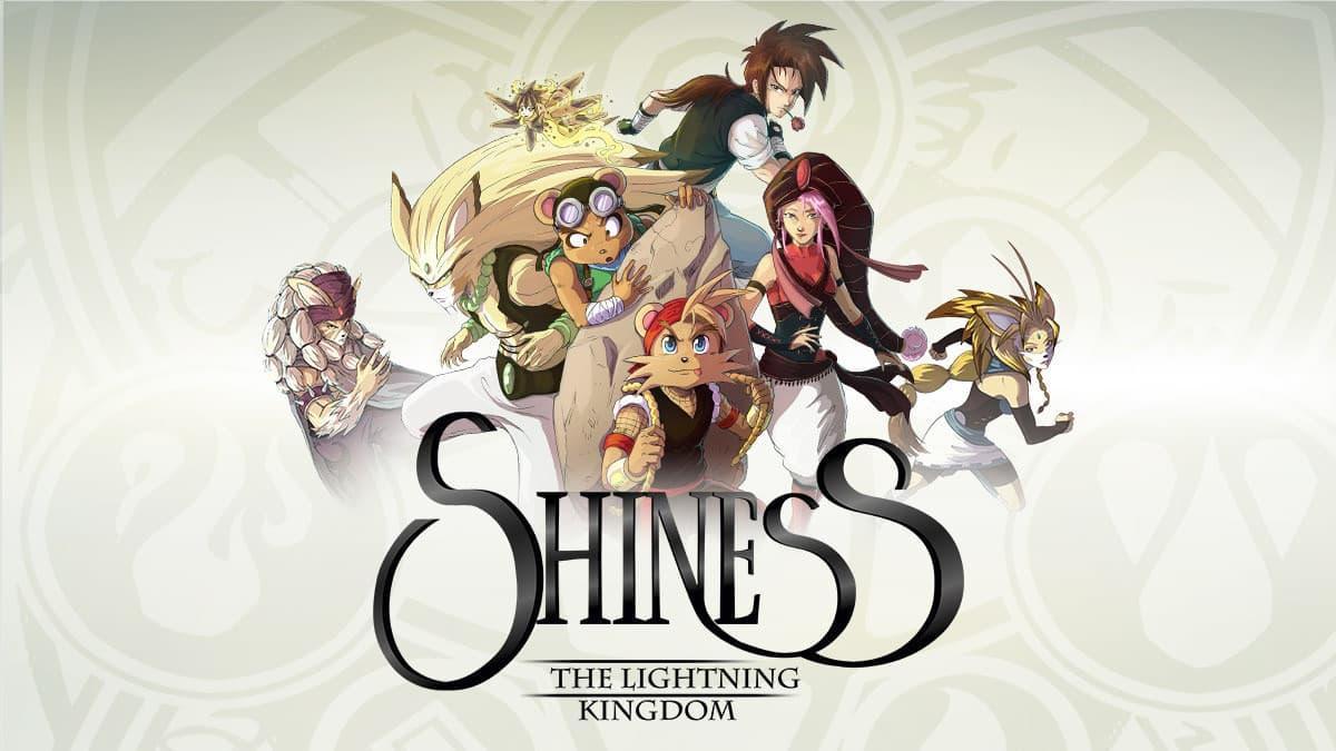 Jaquette Shiness : The Lightning Kingdom