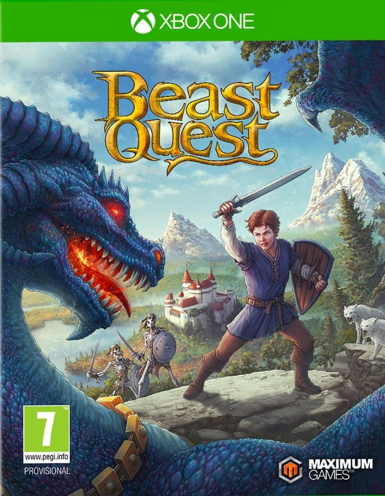 Jaquette Beast Quest