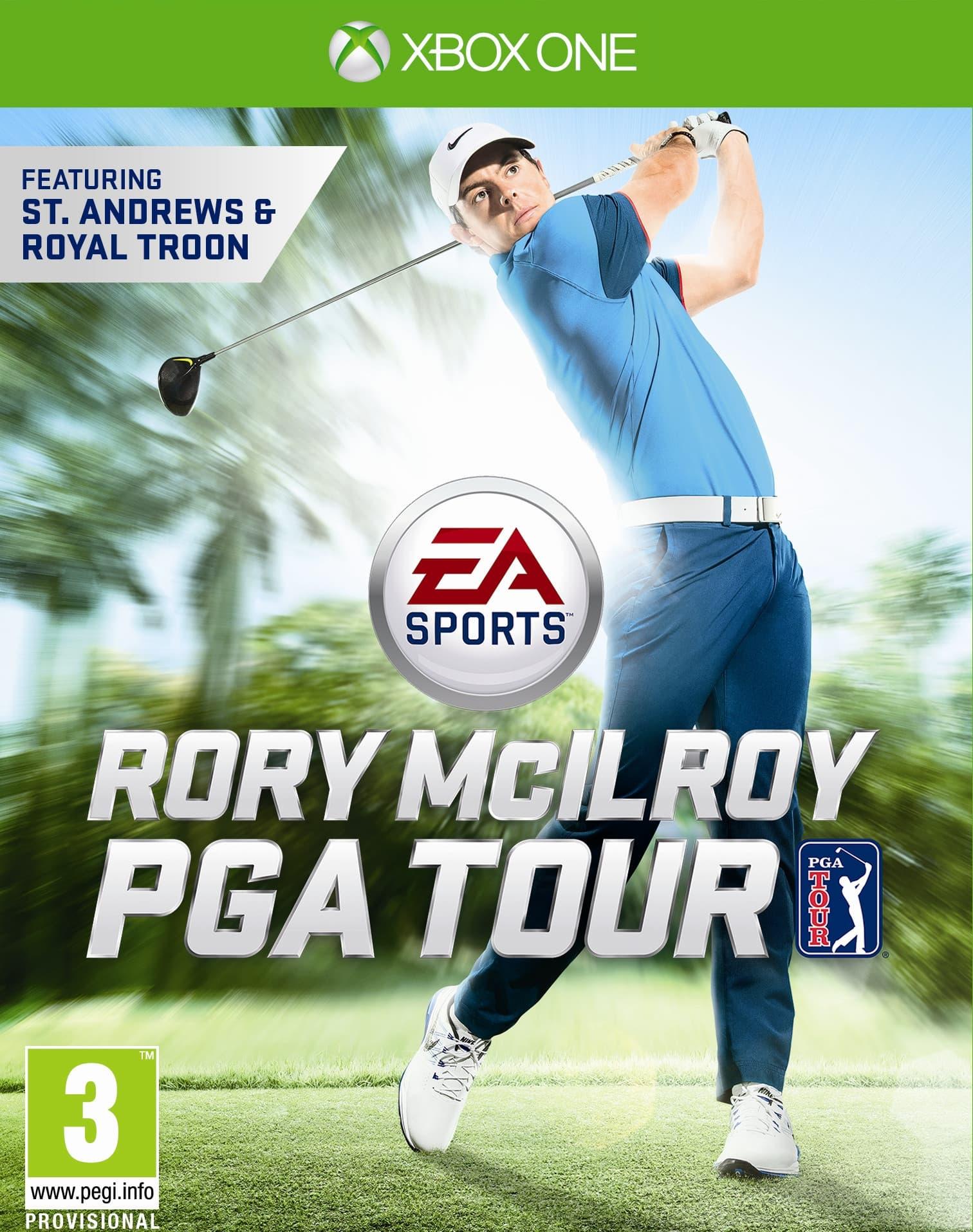 Jaquette EA Sports Rory McIlroy PGA Tour 15