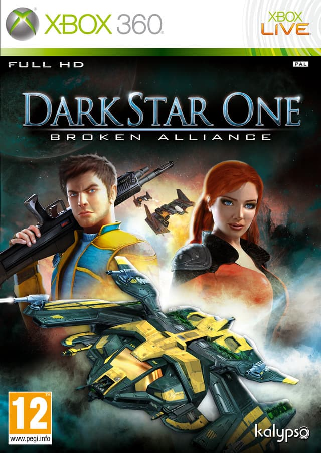 Jaquette Darkstar One : Broken Alliance