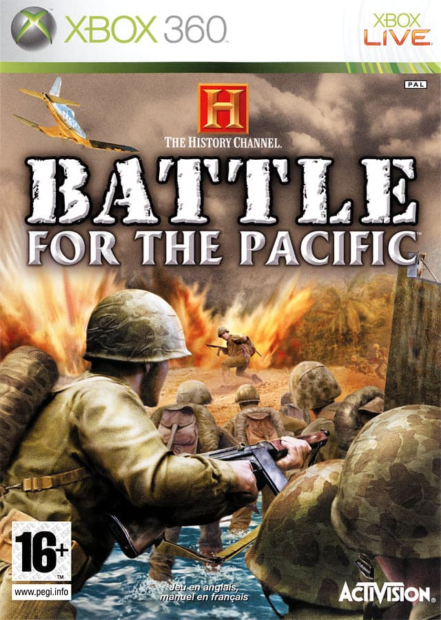 Jaquette History Channel : Battle for the Pacific
