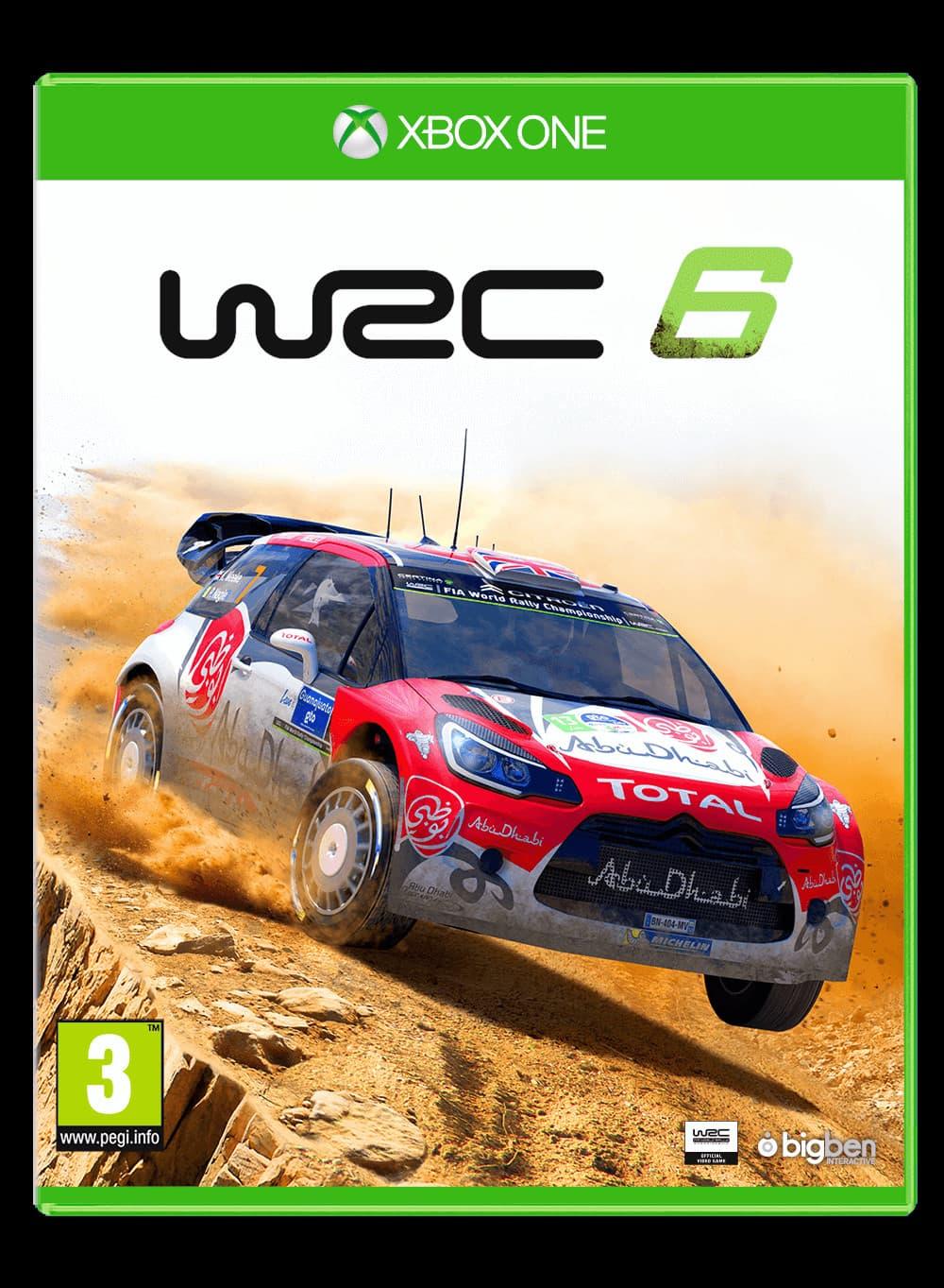 Jaquette WRC 6