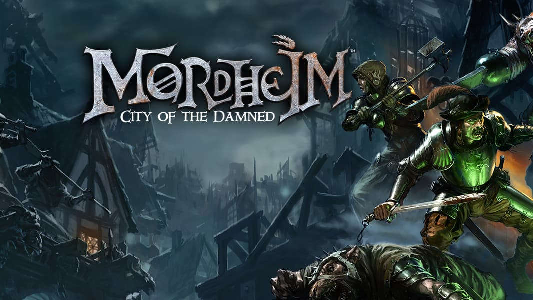 Jaquette Mordheim : City of the Damned