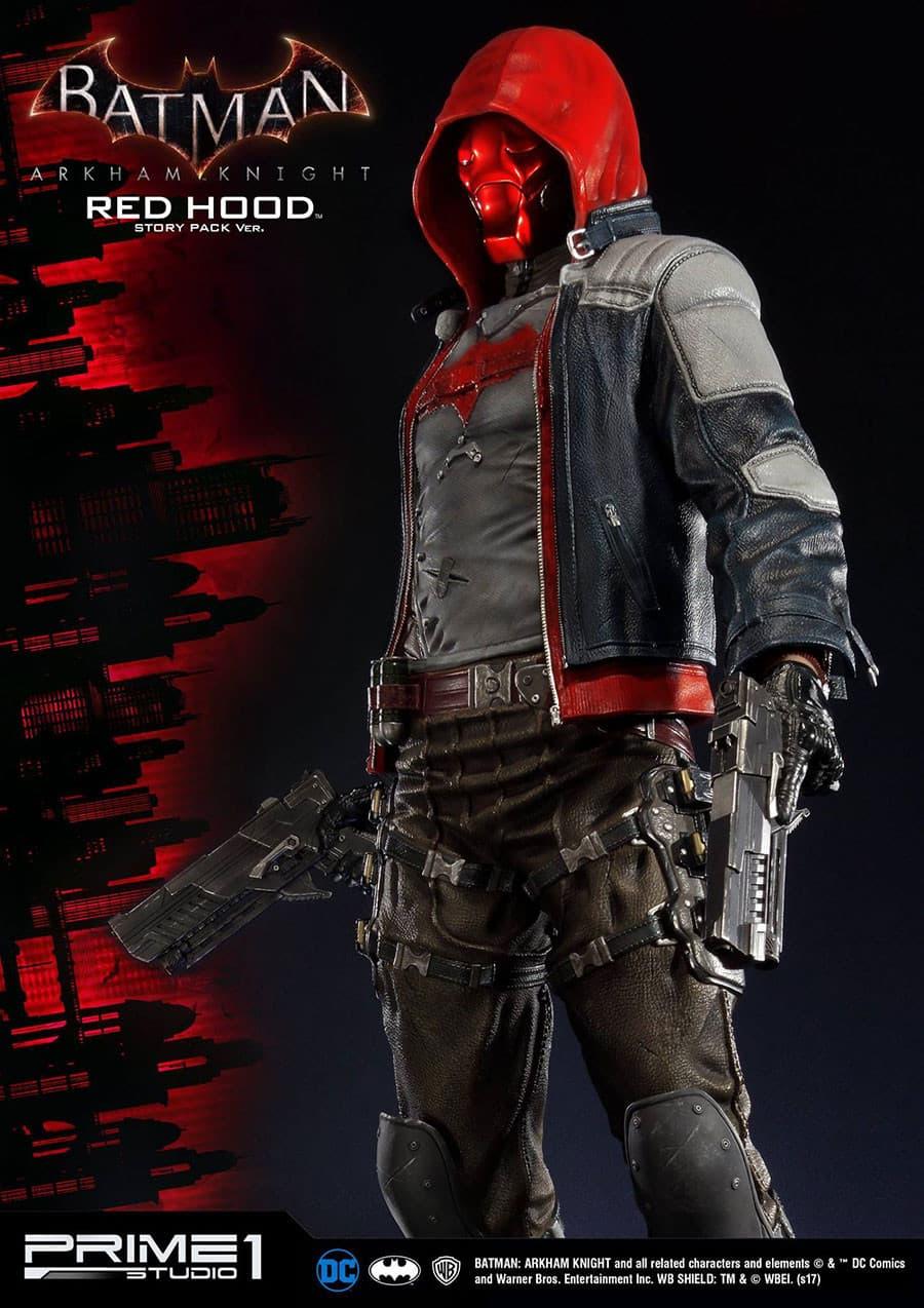 Jaquette Batman Arkham Knight - Red Hood
