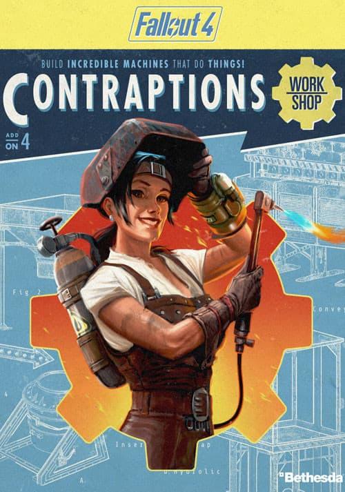 Jaquette Fallout 4 : Contraptions Workshop