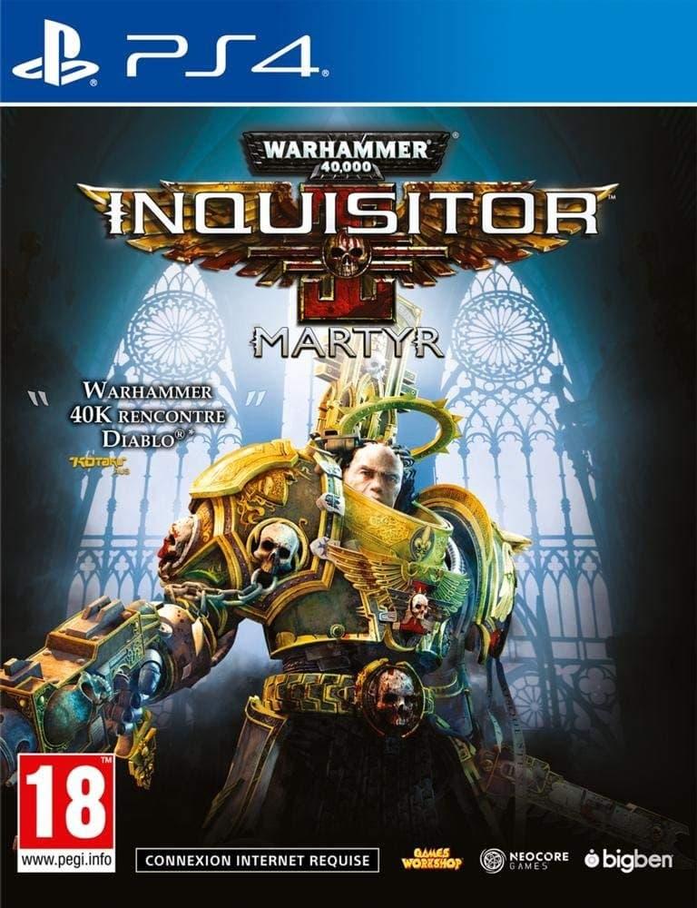 Jaquette Warhammer 40.000: Inquisitor - Martyr