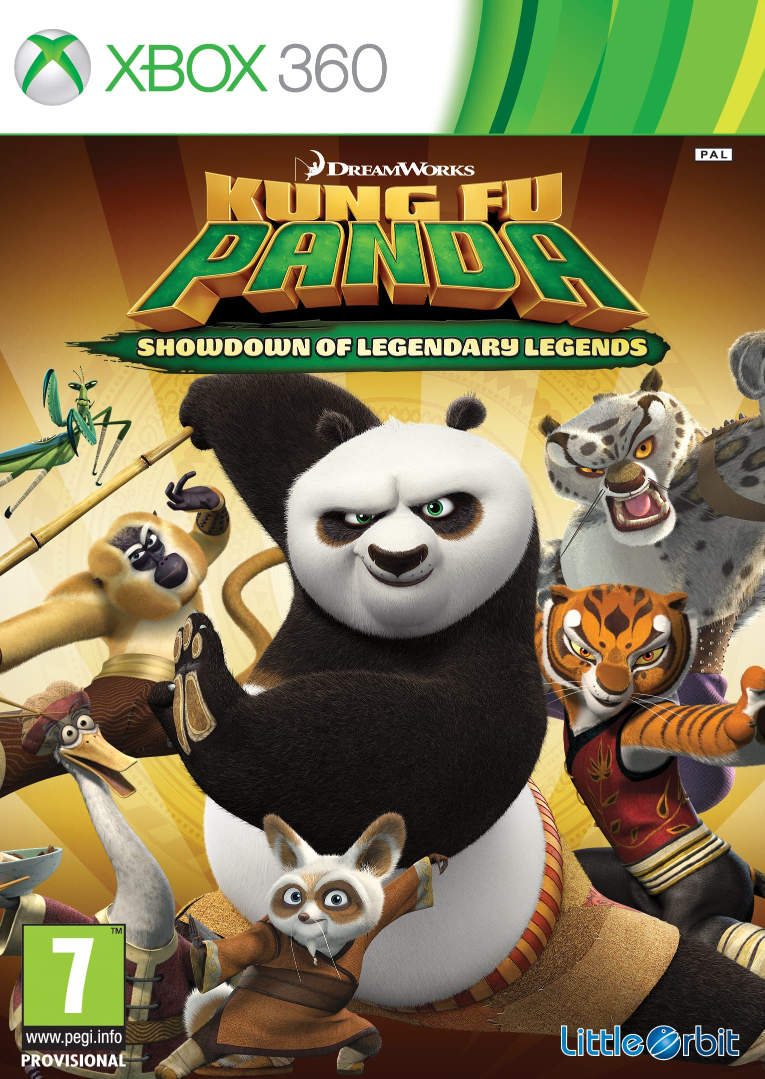 Jaquette Kung Fu Panda : Le Choc des Légendes