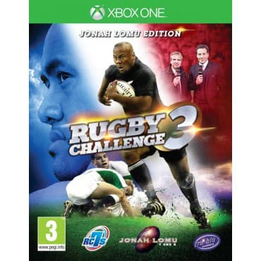 Jaquette Jonah Lomu Rugby Challenge 3