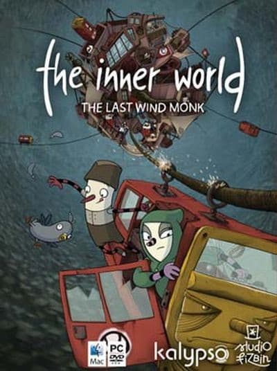 Jaquette The Inner World : The Last Wind Monk