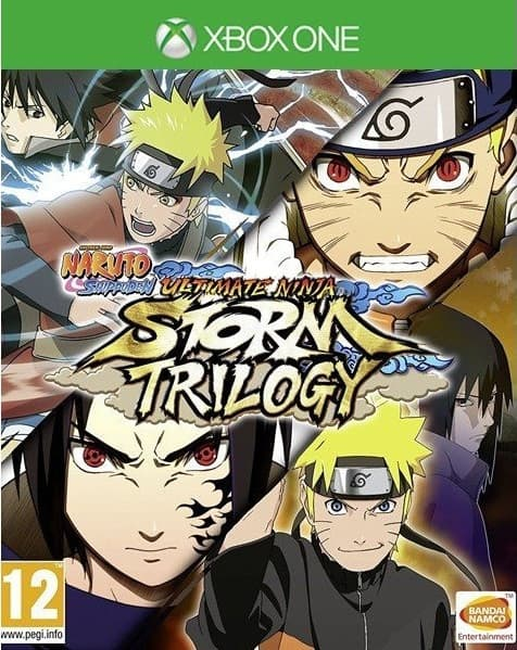 Jaquette Naruto Shippuden : Ultimate Ninja Storm Trilogy
