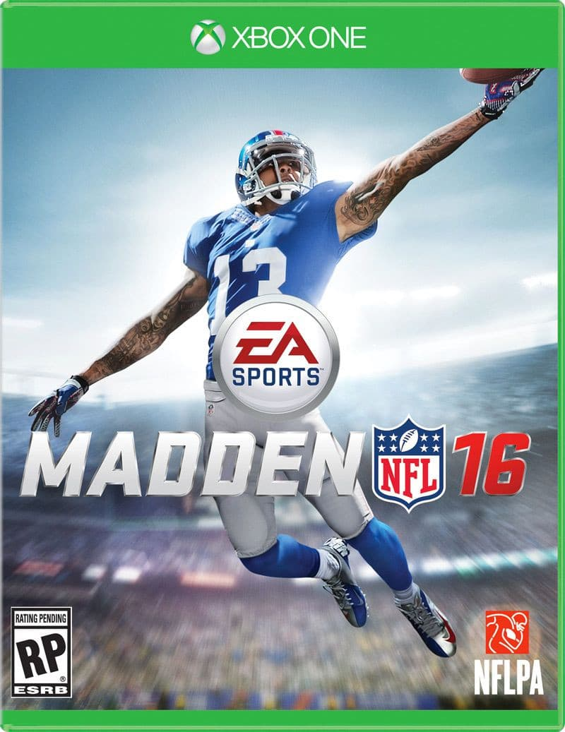 Jaquette Madden NFL 16 Deluxe Edition