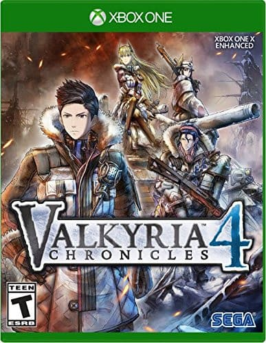 Jaquette Valkyria Chronicles 4