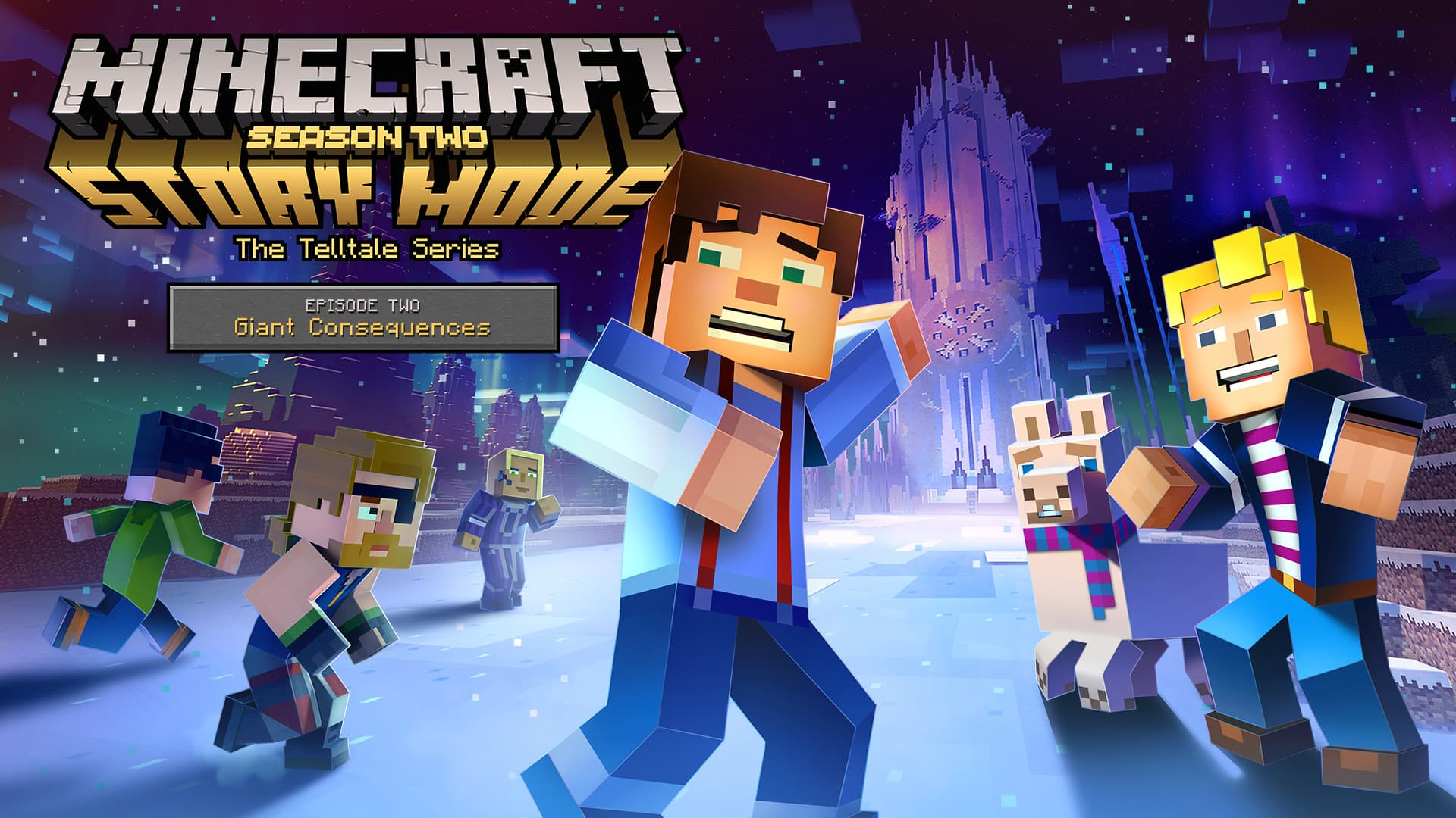 Jaquette Minecraft : Story Mode - Saison 2 : Episode 2 - Giant Consequences