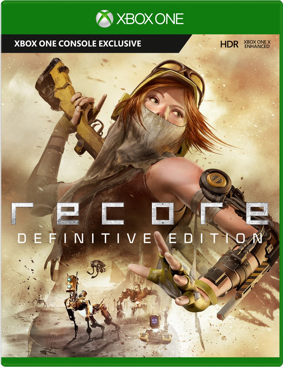 Jaquette ReCore Definitive Edition