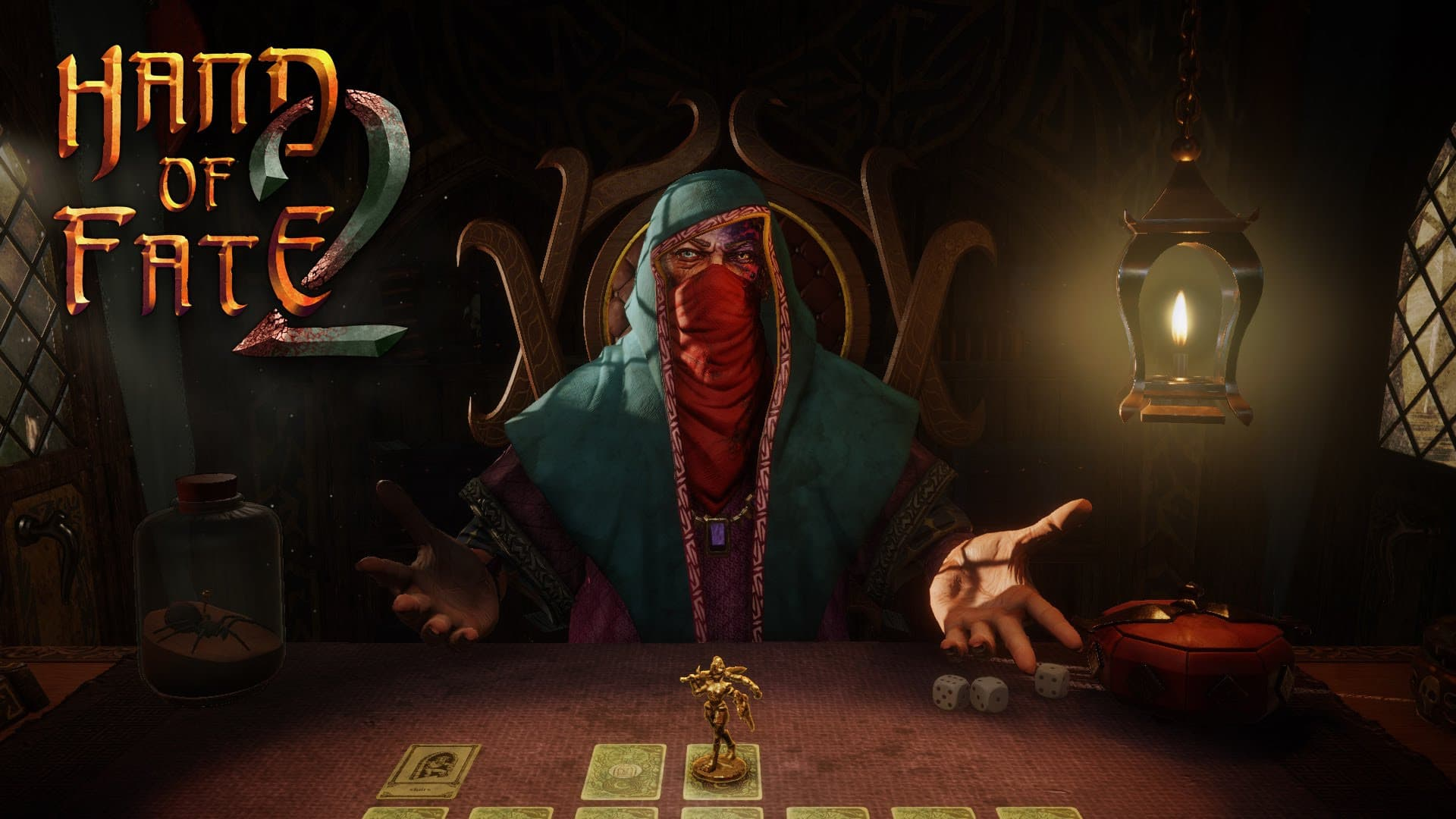 Jaquette Hand of Fate 2