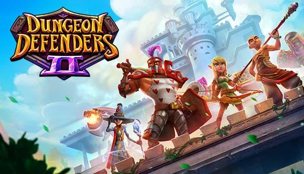 Jaquette Dungeon Defenders 2